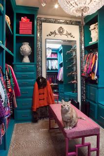 Eclectic Custom Closet