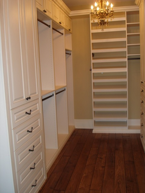 Walk in closet traditional closet chicago by - Small master closet ideas ...