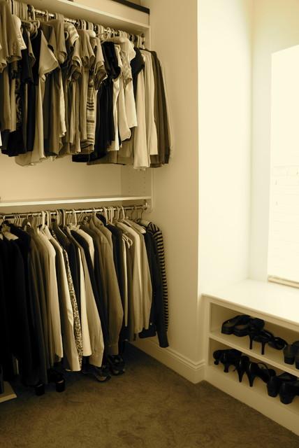 Storage traditional-closet