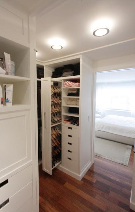 Sistemas imprescindibles para organizar tu vestidor closet for Zapateras para espacios pequenos