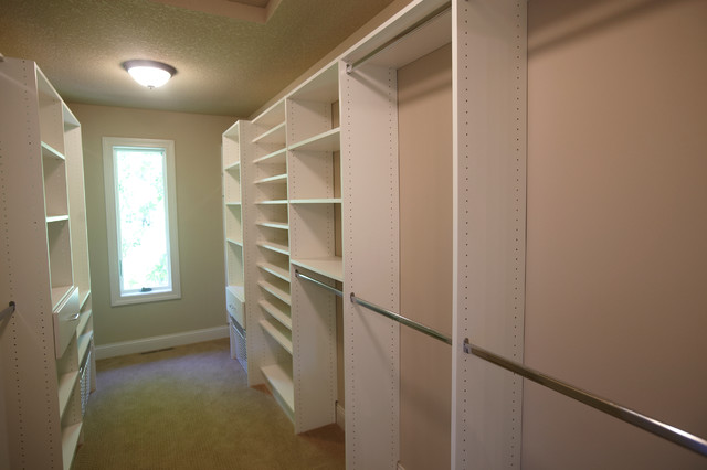 Narrow walk in closets ideas pictures walk in - Master bedroom closet designs and ideas ...