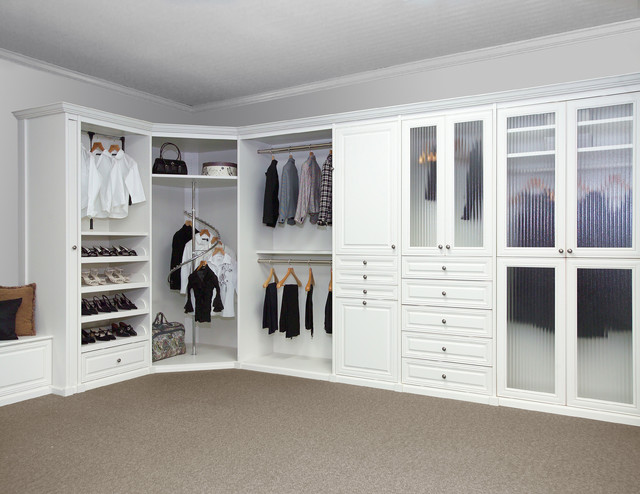 Custom Closet Ideas And Features Traditional