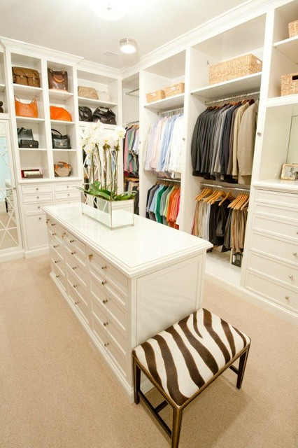 Traditional Living traditional-closet