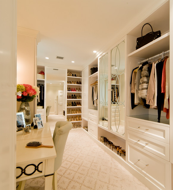 Transitional Space Traditional Closet DC Metro by Sroka
