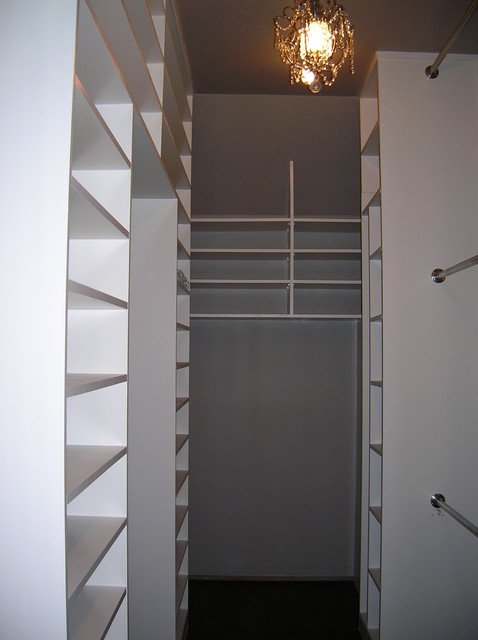 Triple Height Closet - Contemporary - Closet - new orleans ...