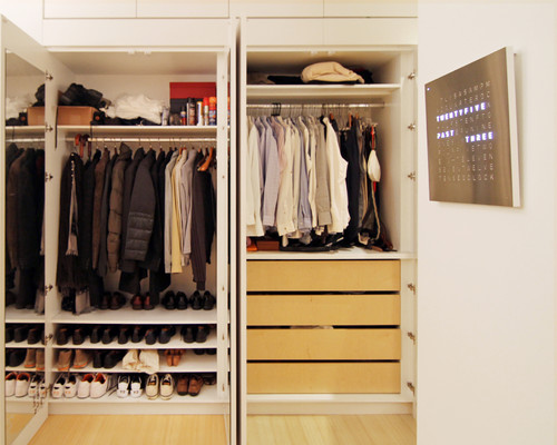 Fun ways to use built ins to transform your closet into for Transform small closet space