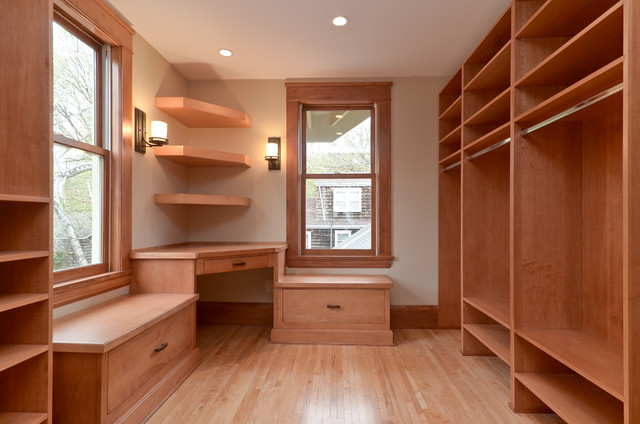 Unbelievable St. Paul Rennovation traditional-closet