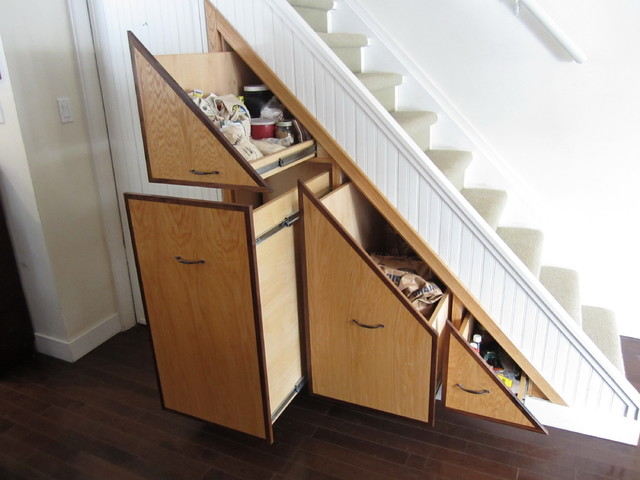 Under stair pantry contemporary closet toronto by - Under stairs closet ideas ...