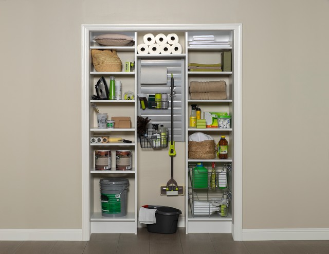 Utility Closet - Contemporary - Closet - Phoenix - by Arizona Garage & Closet Design
