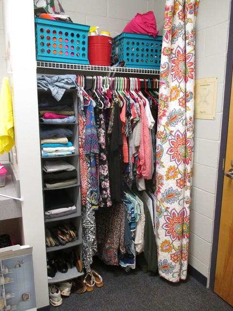 Dorm Room Closet: By Wanderings