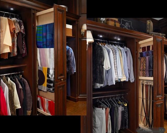 Valet Custom Closet traditional-closet
