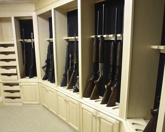 Gun room home design ideas pictures remodel and decor for Walk in gun safe plans