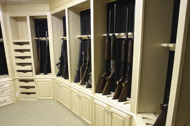 Venecia mediterranean closet milwaukee by barenz for How to build a gun vault room