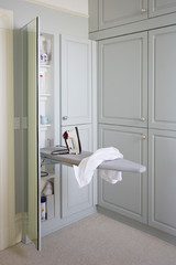 Dirty Laundry: 11 Functional Storage Spaces in Tricky Places