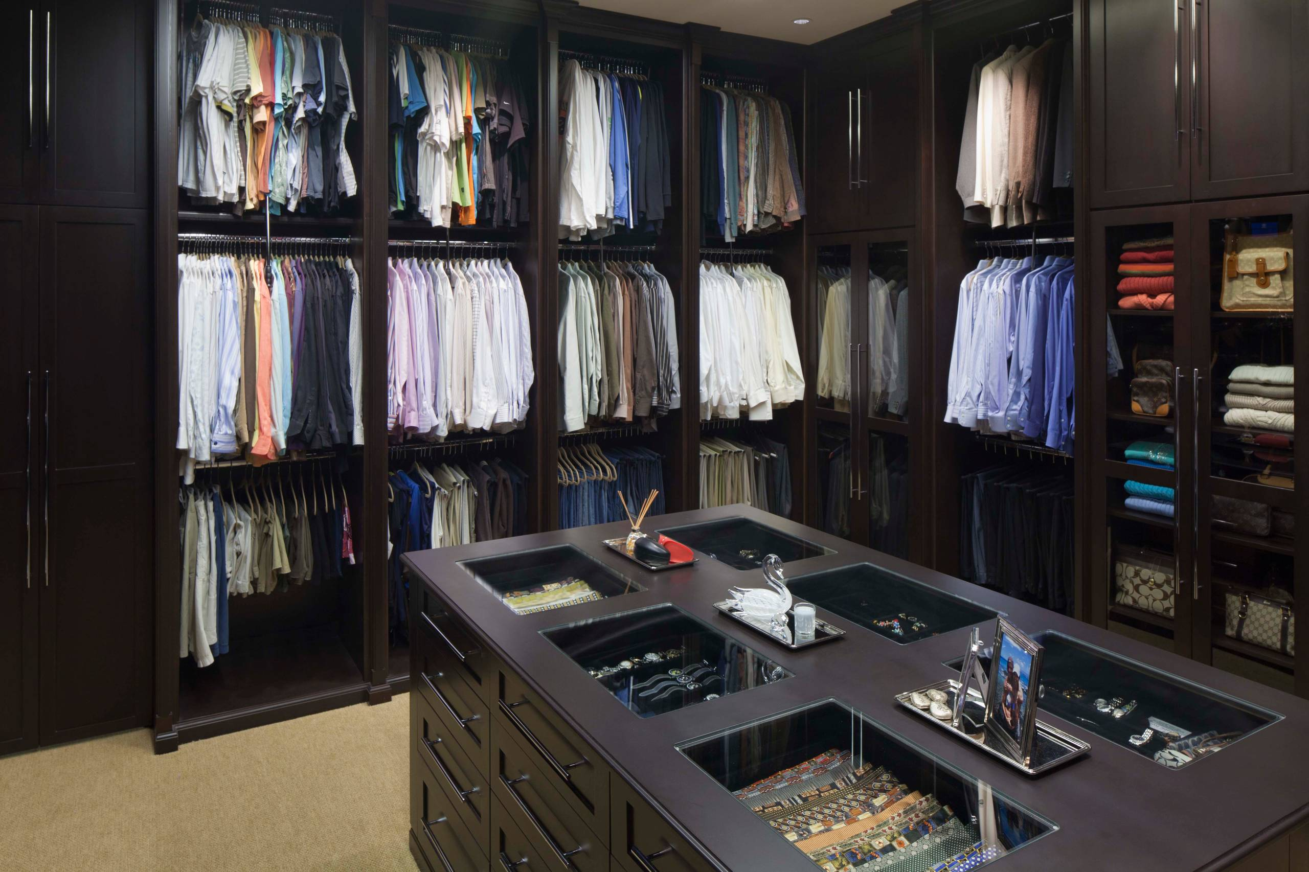 Triple Tier Closet Houzz