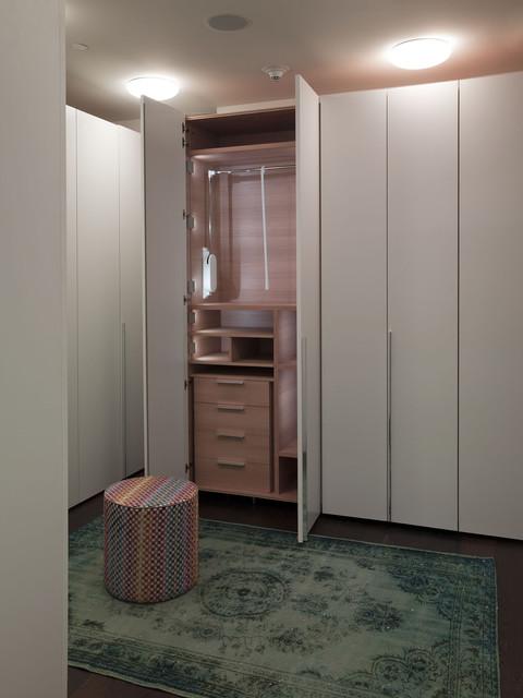W Residence Mater Closet modern-closet