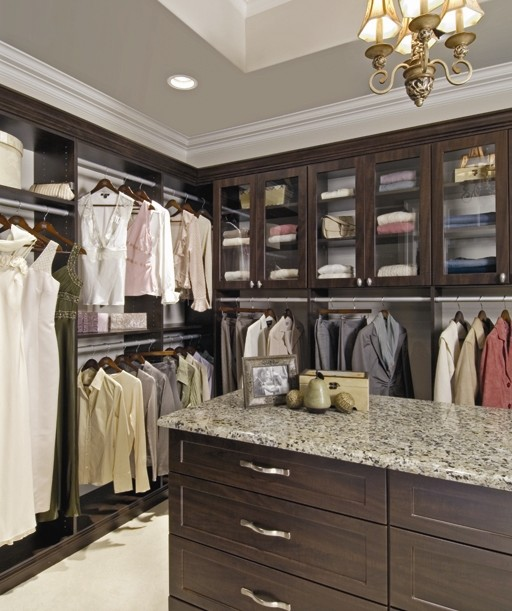 Walk-In Closet traditional-closet