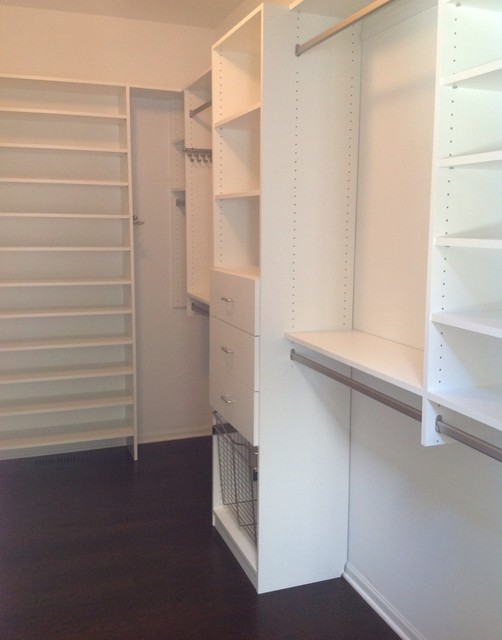 Walk In Closet - Contemporary - Closet - chicago - by Closet Organizing Systems