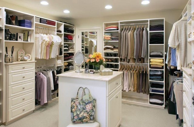 Bon Walk In Closet Traditional Closet