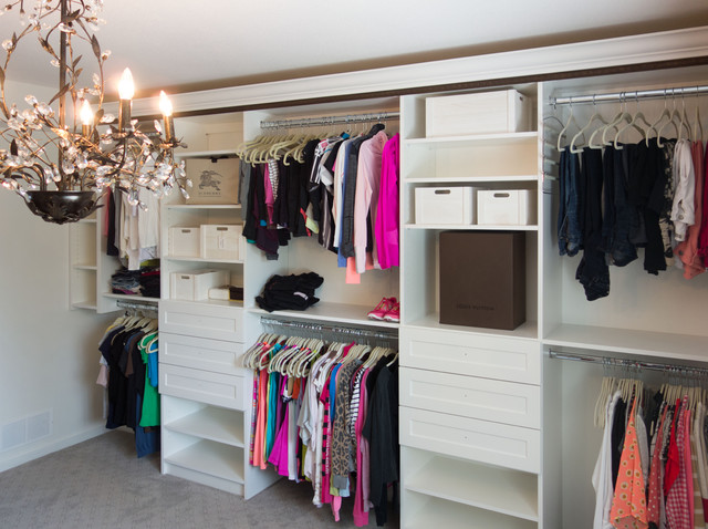 abgeholt heißes Produkt online Walk-In Closet, Lower Mission Rock House Style - Eclectic ...