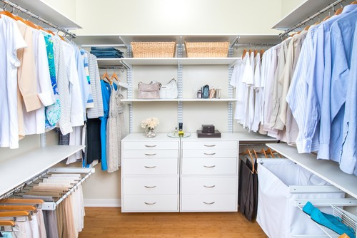 Walk In Closet Organization  | Organized Living freedomRail