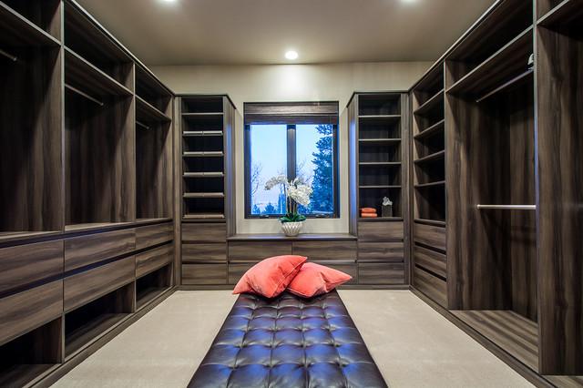 Walk-In Closet Organizers - Modern - Förvaring & garderob - salt lake ...