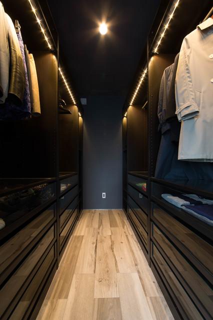Walk-in Closet modern-closet
