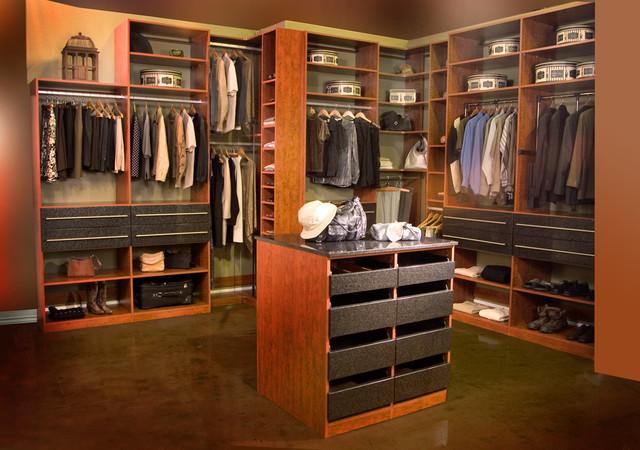 Walk in closets for Modern walk in closets