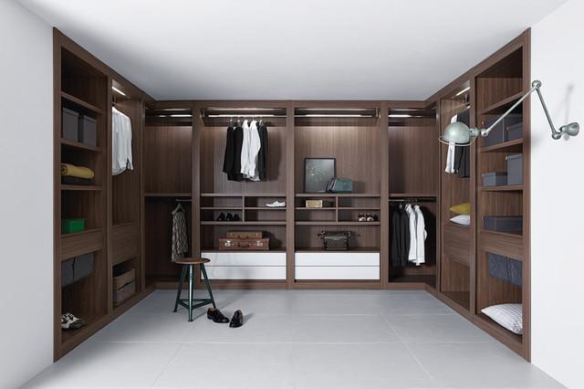 Wardrobe and Walk-in Closet - Contemporary - Closet ...