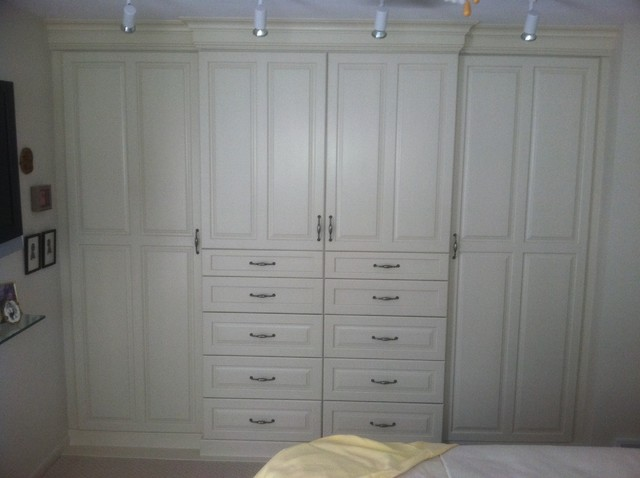 Watt custom closet cabinets 2011 traditional closet - Custom cabinet companies ...