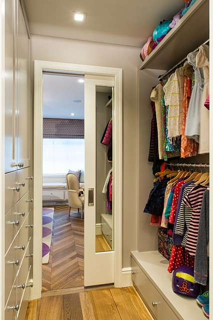 West Side Townhouse Contemporary Closet New York