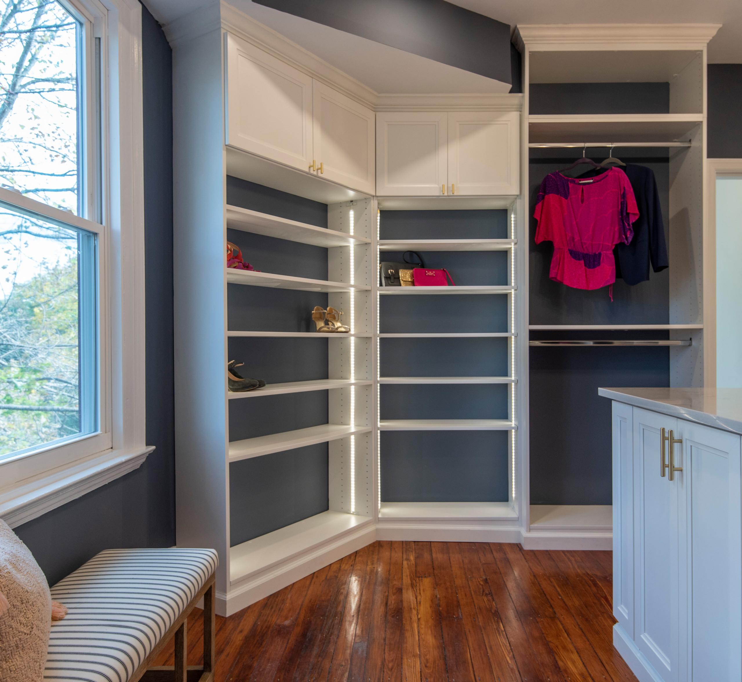 Westfield Master Walk-in Closet Renovation