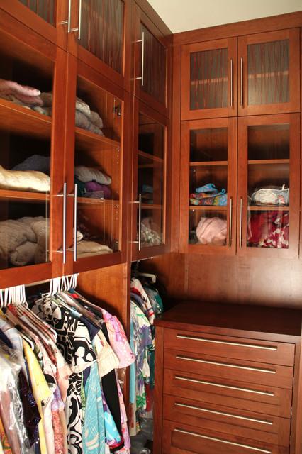 Westlake Island Whole House Remodel contemporary-closet