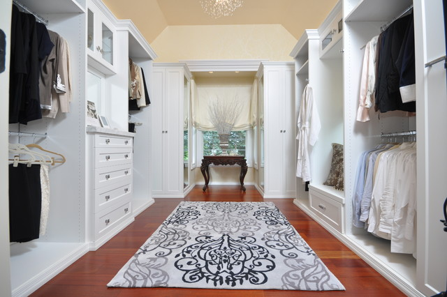 White Dressing Room Contemporary Closet Newark By