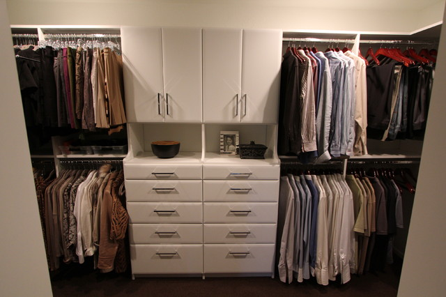 Williams Master Closet contemporary-closet