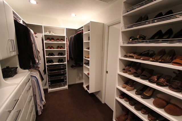 Williams Master Closet contemporary closet