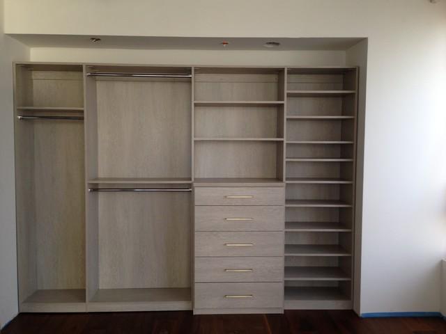Wilshire corridor condo contemporary closet los for Closet design los angeles
