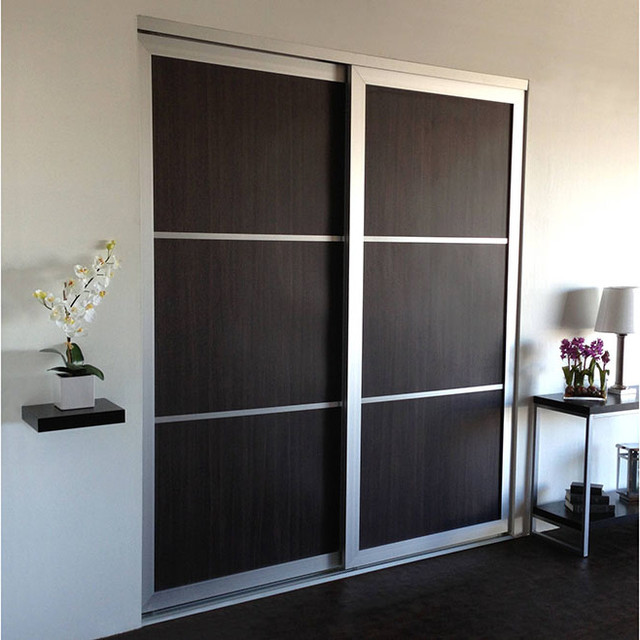 Woodgrains - Sliding Closet Doors / Room Dividers - Modern - Closet - Los Angeles - by Open ...