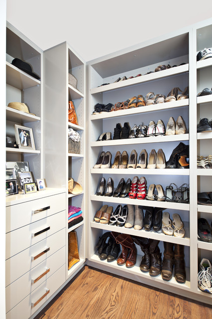 Woodside Residence contemporary-closet