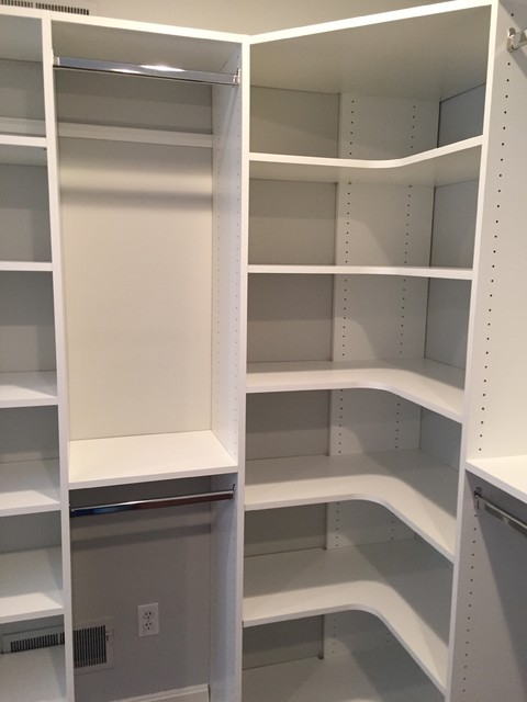 guest shelves closet to hoh a in install o how shelving for