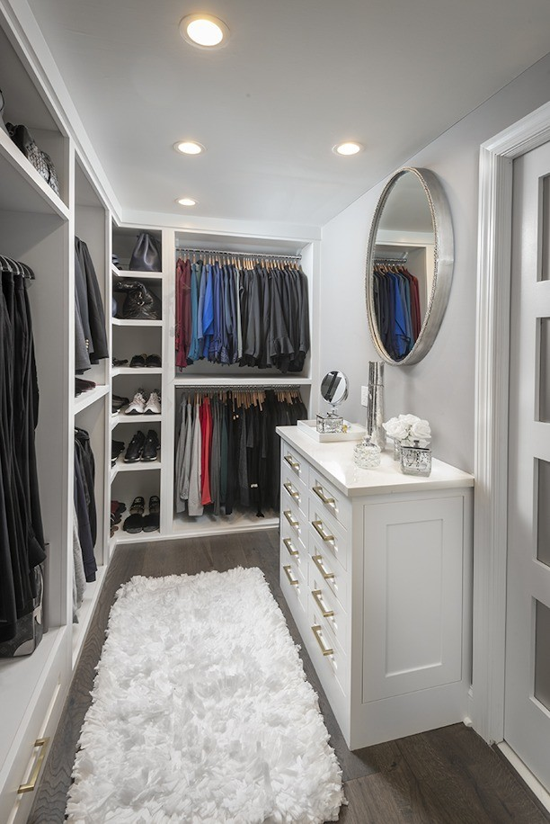 Wynnewood Pa Master Bathroom Custom Closet Transitional Closet Philadelphia By Bella B Home Designs