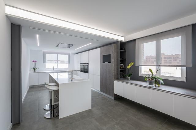 Apartamento En Valencia Contempor Neo Cocina
