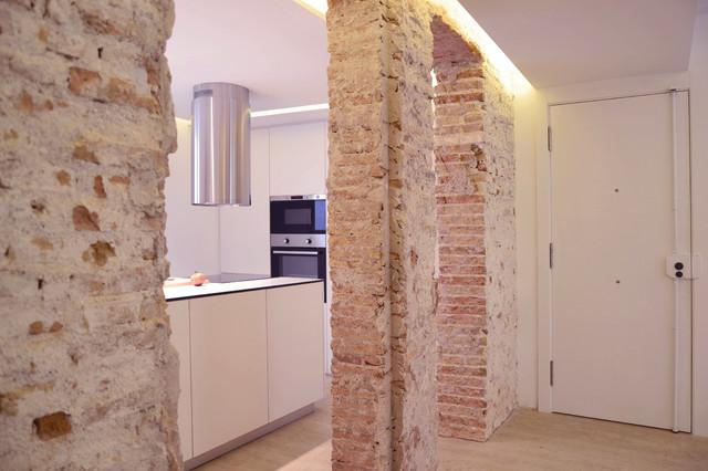 Espacio nico integrado por sal n cocina y comedor - Salon y cocina integrados ...