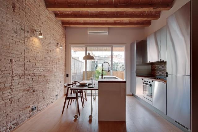 Qué medidas debe tener una isla de cocina para ser funcional?