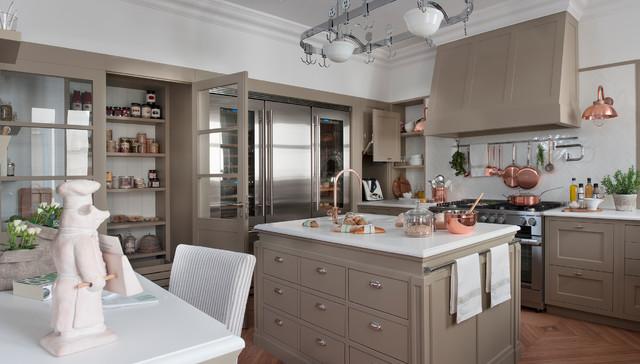 Domestica Interior Design.Casa Decor 2017 Transitional Kitchen Barcelona By