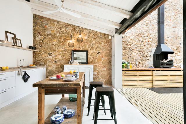 Cocina con chimenea: ideas y fotos | Houzz