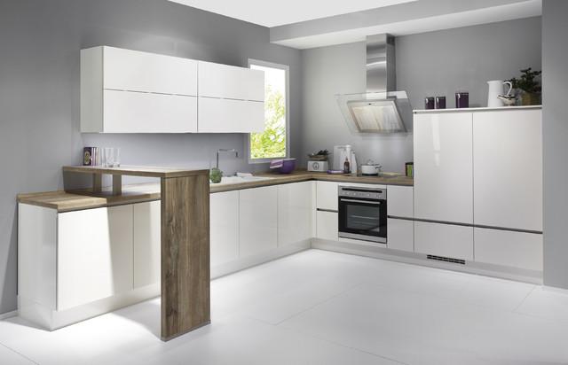 Cocina blanca lineal - Instaladores de cocinas ...