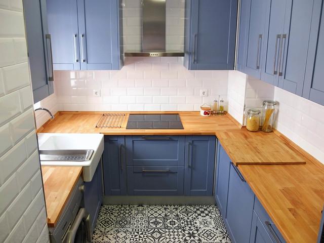 Antes y despu s el radical cambio de una cocina por - Cocinas por 2000 euros ...