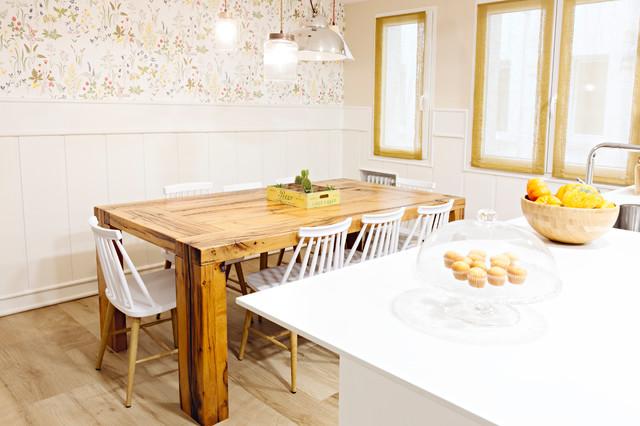Cocina comedor Uria - Shabby-Chic-Style - Küche - Sonstige ...