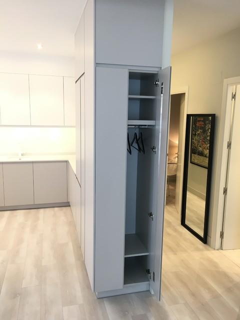 Cocina de diseño en un Loft de Madrid - Minimalistisch ...